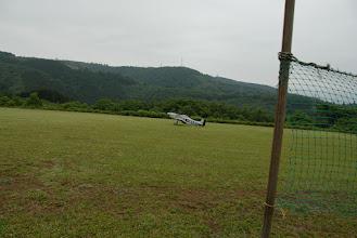 Photo: ムスタングを飛ばすのはー