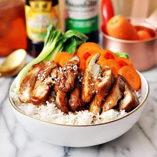 5 Ingredients Honey Soy Chicken (A Gluten Free Recipe).