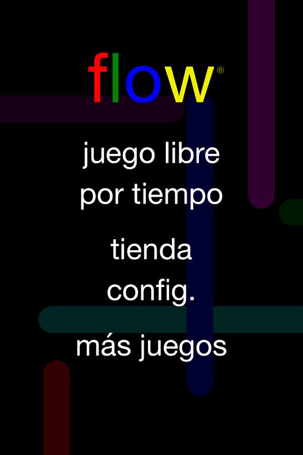 Flow Free: captura de pantalla