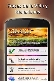 Frases De La Vida Y Reflexiones Hermosas Imagenes Aplicaciones En