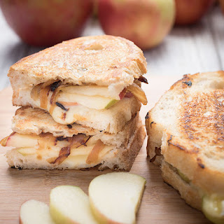 Apple, Brie, and Caramelized Onion Panini