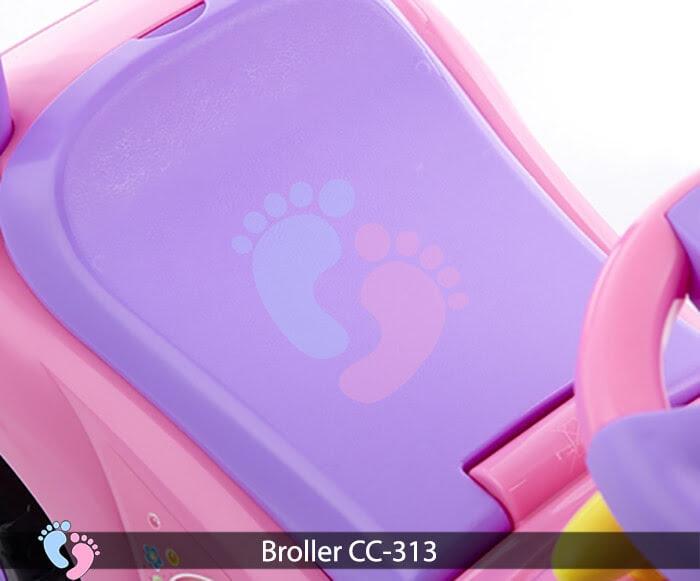 Xe chòi chân oto Broller CC 313 14