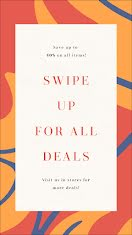 Swipe Up for All Deals - Facebook Story item