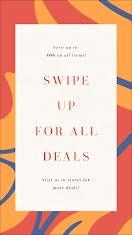 Swipe Up for All Deals - Pinterest Idea Pin item