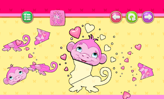 Puzzle games for Girls kids: princess and unicorns