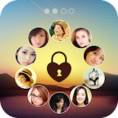 Photo Lock Screen – circle