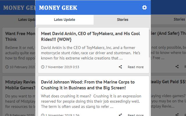 Money Geek - LATEST YOUR MONEY GEEK