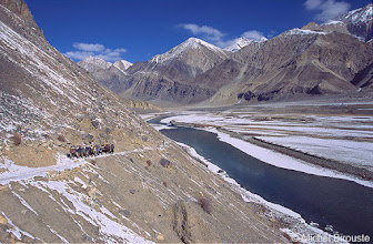 Photo: arrivée au Zanskar