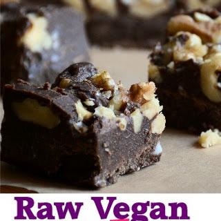 Chocolate Fudge (raw, vegan, paleo)