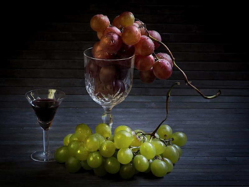 tempo di vendemmia, uva e buon vino di nuvolina62