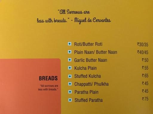 Square Meal - Hotel Ginger menu 3