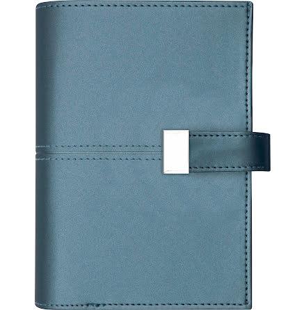 Stor Veckokalender k.läder blå