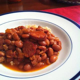 Tangy Crock Pot Pinto Beans Bonanza.