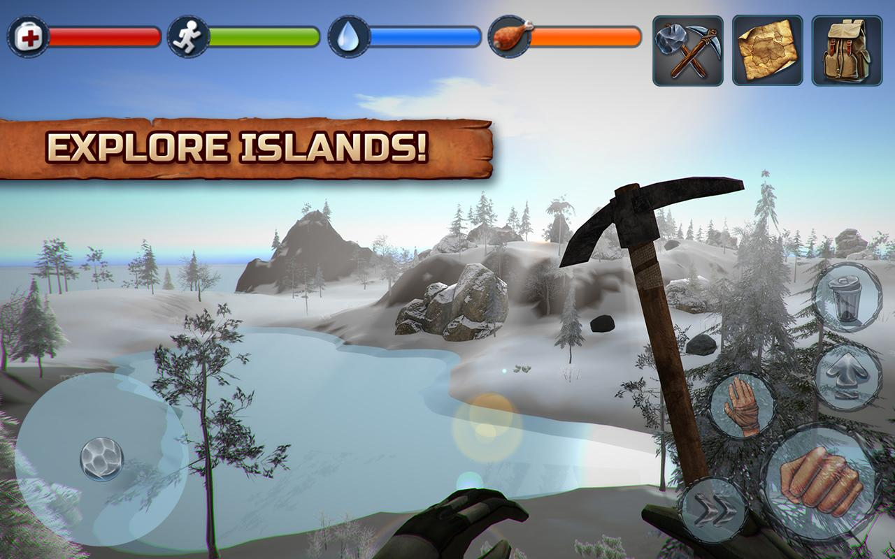 Island Survival PRO- screenshot