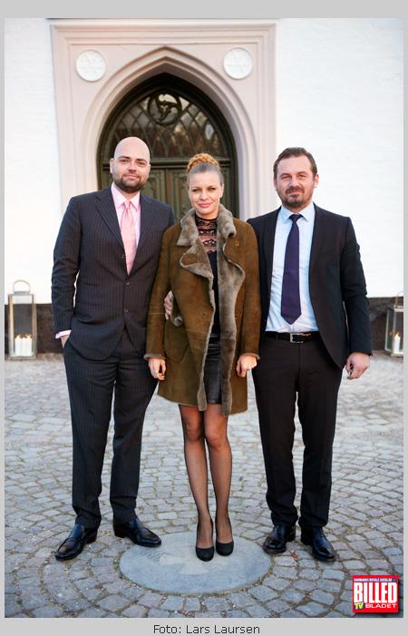 Photo Mille Dinesen Sammen Med Mand Thomas Busch Th Og Radiovaert Ed Michel