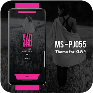 aflaai MS - PJ055 Theme for KLWP deur Marcello Sillva apk