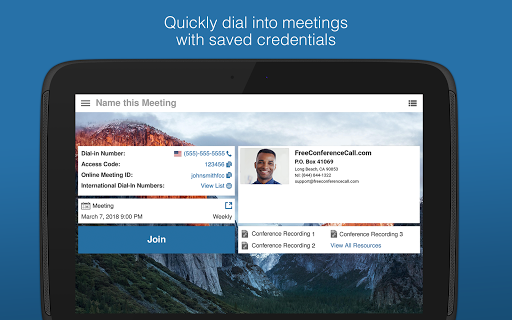 Free Conference Call 2.2.13.0 screenshots 9