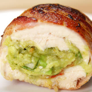 These Guacamole Chicken Bombs Are Wrapped In Bacon And Totally Satisfying.