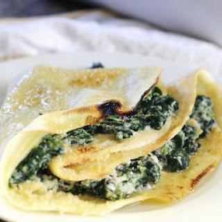 Savoury Cheese Pancakes.
