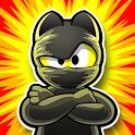 Ninja Hero Cats Premium icon