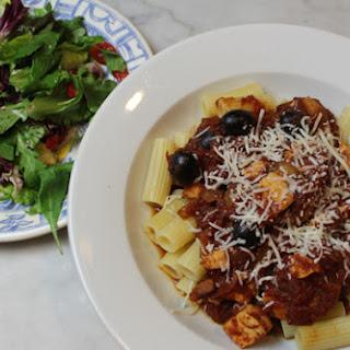 Roasted Pepper, Artichoke & Italian Greens Salad