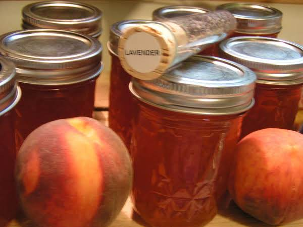 Relaxing Peach Lavender Jam Recipe