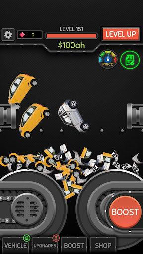 Idle Car Crusher apkmr screenshots 1