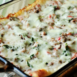 Weight Watchers Deep Dish Pizza Casserole