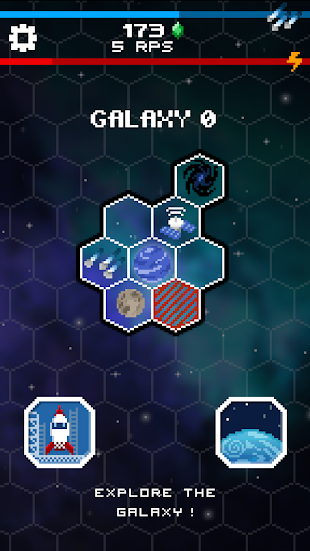 Tap Galaxy – Deep Space Mine- screenshot thumbnail