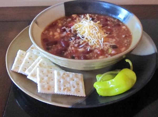 Five Can Chili Recipe