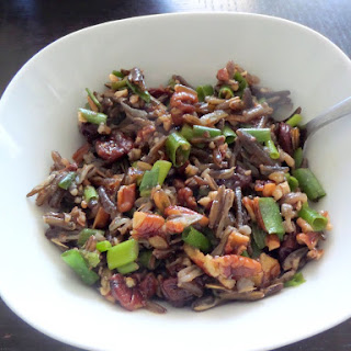 Wild Rice Cherry Pecan Salad