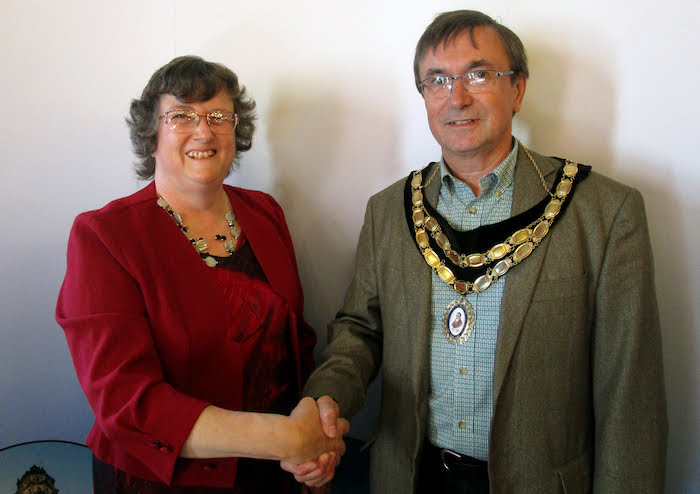 Former mayor resigns from town council