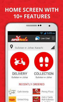 Supermeal.pk - Online Food - screenshot