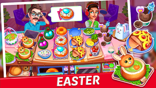 Crazy My Cafe Shop Star - Chef Cooking Games 2020 screenshots 1