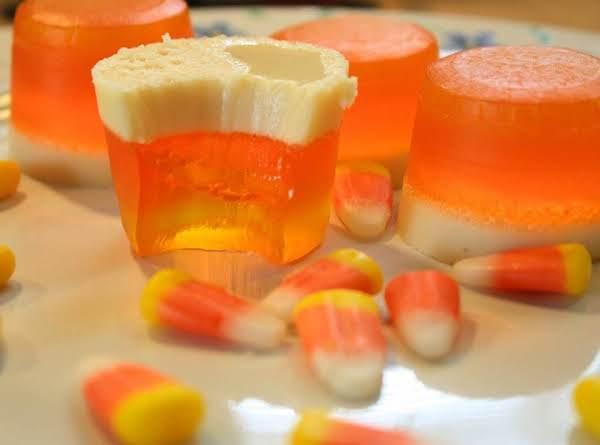 Candy Corn Jello Shots Recipe