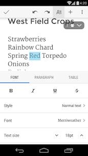 Documentos de Google 3