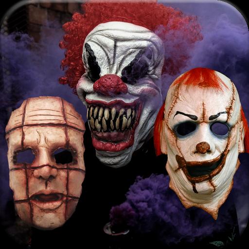 Horror Mask Photo Editor Icon