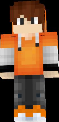 Orange Boy Nova Skin
