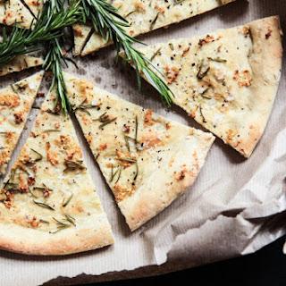 Crispy Rosemary & Garlic Focaccia.