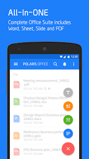 Polaris Office + PDF Editor- screenshot thumbnail