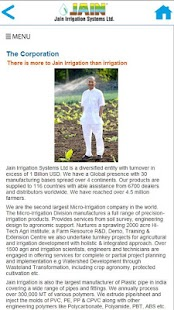 Jain Irrigation MIS Catalogue- screenshot thumbnail
