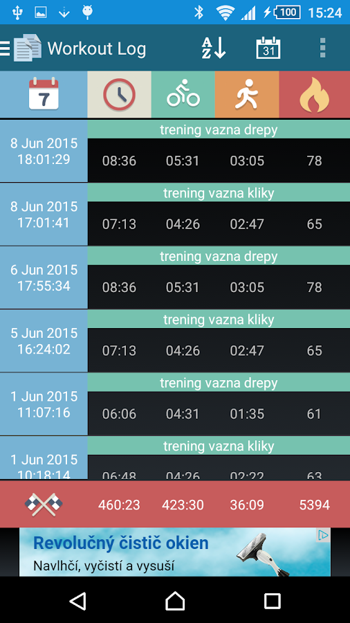 Interval Timer: HIIT & Tabata- screenshot
