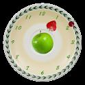Vegetarian Clocks Wallpaper