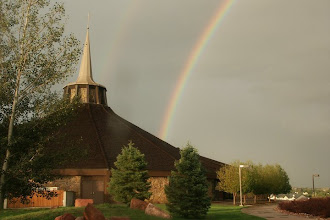 Photo: Strickland Chapel right after a thunderstorm.