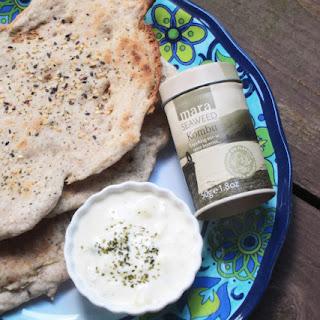 Grilled Millet Flatbreads with Sesame Seed and Kombu Seaweed Sprinkles (Gluten Free, Vegan)