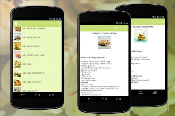 Resep Roti Pilihan - screenshot