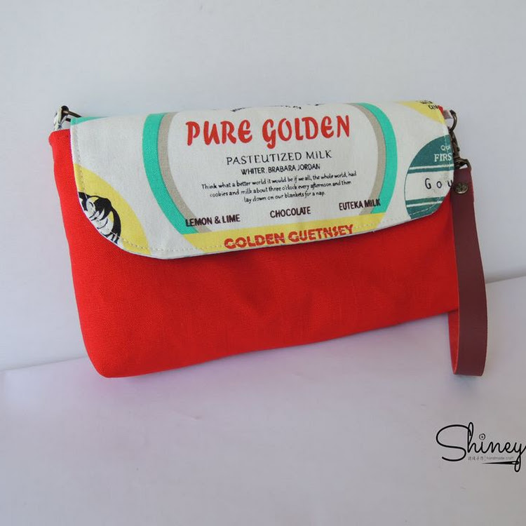 Handmade 3 Ways Hand Pouch by Shiney Craft & Zakka 诗绫手作