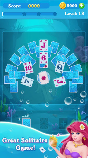 Solitaire Match Mermaid  screenshots 1