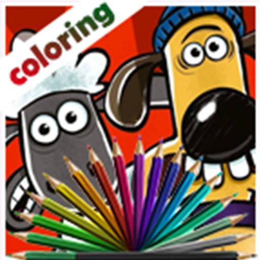 Shaun The Sheep Coloring Book Applications Sur Google Play