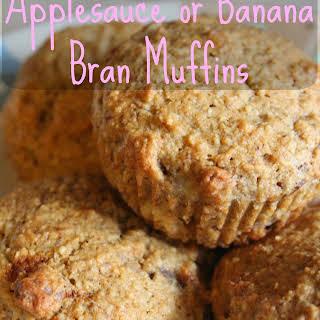 Banana Bran Muffins Applesauce Recipes.